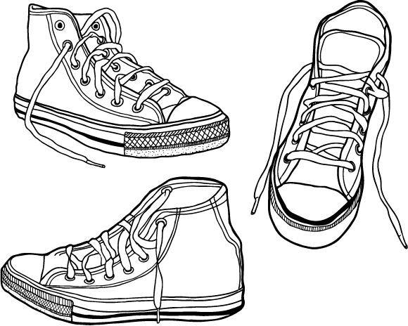free vector Vector Sneaker Graphics