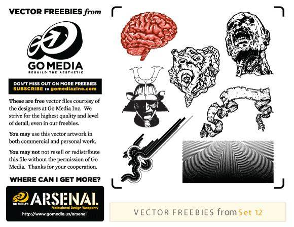 free vector Free Vector Pack 12 Sampler