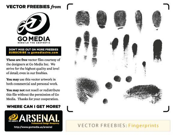 free vector Fingerprints