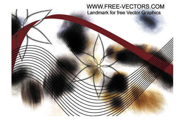 free vector Abstract Perspective Shapes