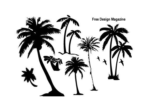 free vector Palm Trees