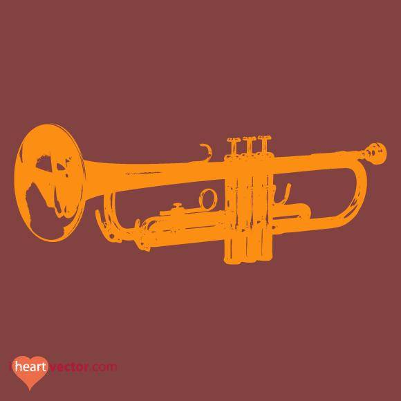 free vector Trumpet Vector