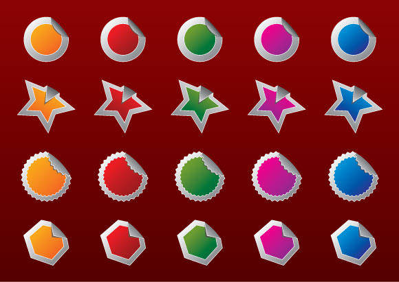 Free High Quality Vector #2 - badges