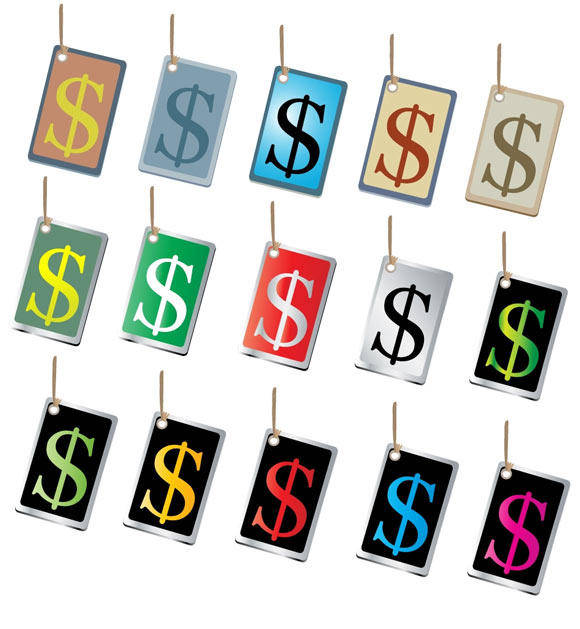 free vector Free Vectors Of Money Sign Tags