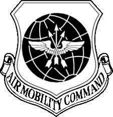 Air Mobility Coat Of Arms Vector