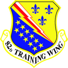 free vector Emblem Of 82nd Training Wing