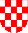 free vector Croatia Checkered Coat Of Arms