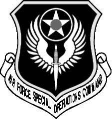 free vector Air Force Special Coat Of Arms Vector