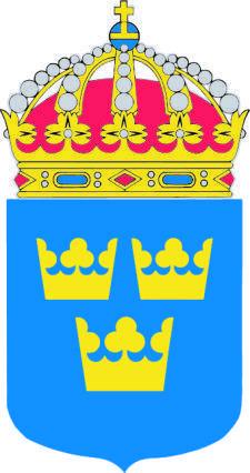 free vector Sweden Coat Of Arms