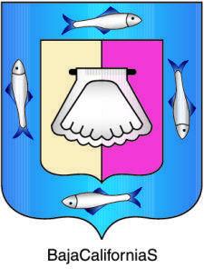 free vector Baja California Sur Coat Of Arms