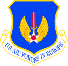 free vector Air Forces Europe Vector Crest