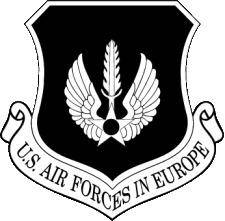 Air Forces Europe Vector Emblem