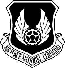 free vector Air Force Materiel Command Vector Crest