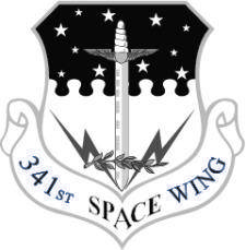 free vector Vector Emblem Of 341 Space Wing
