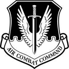Air Combat Command Vector Emblem