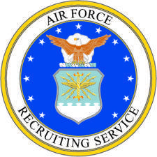 Air Force Recruiting Vector Emblem