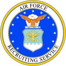 free vector Air Force Recruiting Vector Emblem