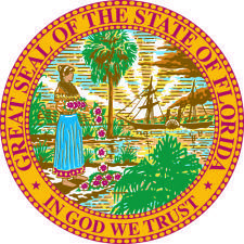 free vector Florida Coat Of Arms