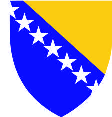 free vector Bosnia And Herzegovina Coat Of Arms