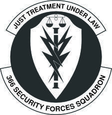 Vector Emblem Of 366 Security Squadron