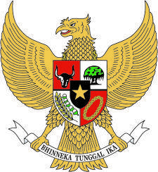 free vector Coat Of Arms Of Indonesia