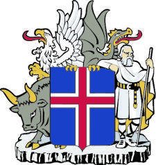 free vector Coat Of Arms Of Iceland