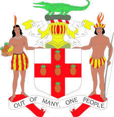 free vector Coat Of Arms Of Jamaica