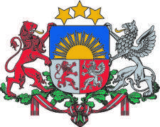 free vector Coat Of Arms Of Latvia