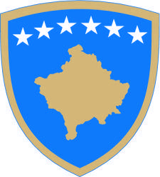 free vector Coat Of Arms Of Kosovo