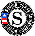 Senior Corps Seal Vector Image