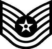 Technical Sergeant Vector Sign