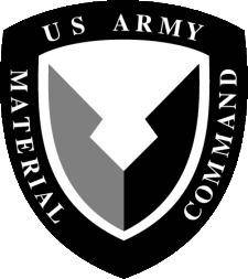 free vector Us Army Material Command Logo