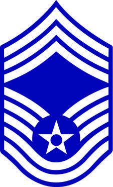 free vector Chief Sergeant Rank Insignia