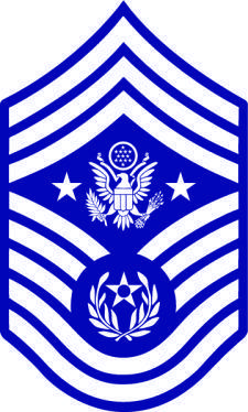 Command Chief Master Sergeant Vector