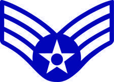 Senior Airman Rank Vector