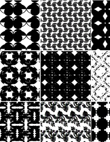 Decorative Seamless Vector Patterns Set