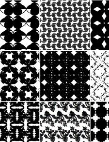 Decorative Seamless Vector Patterns Set